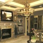 Metallic Paint Finish Living room