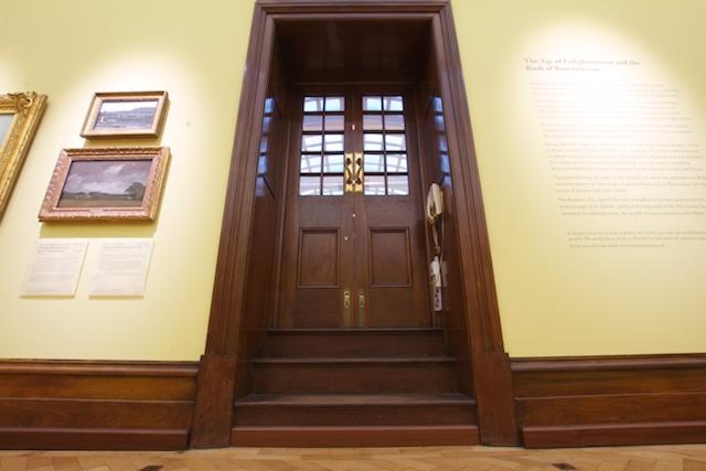 Bristol Art Museum Woodgraining Brostol