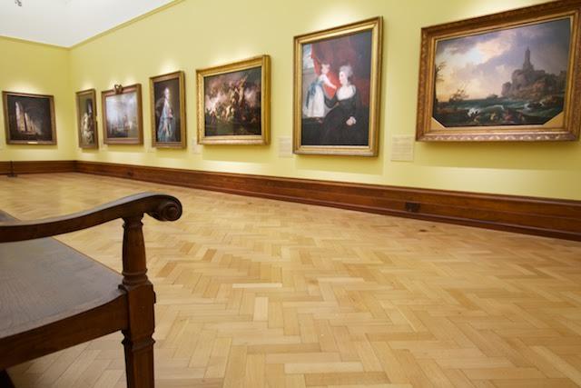 Bristol art museum 4 - woodgraining
